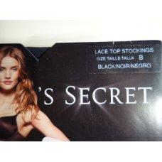 Victorias Secret Lace Top Stocking